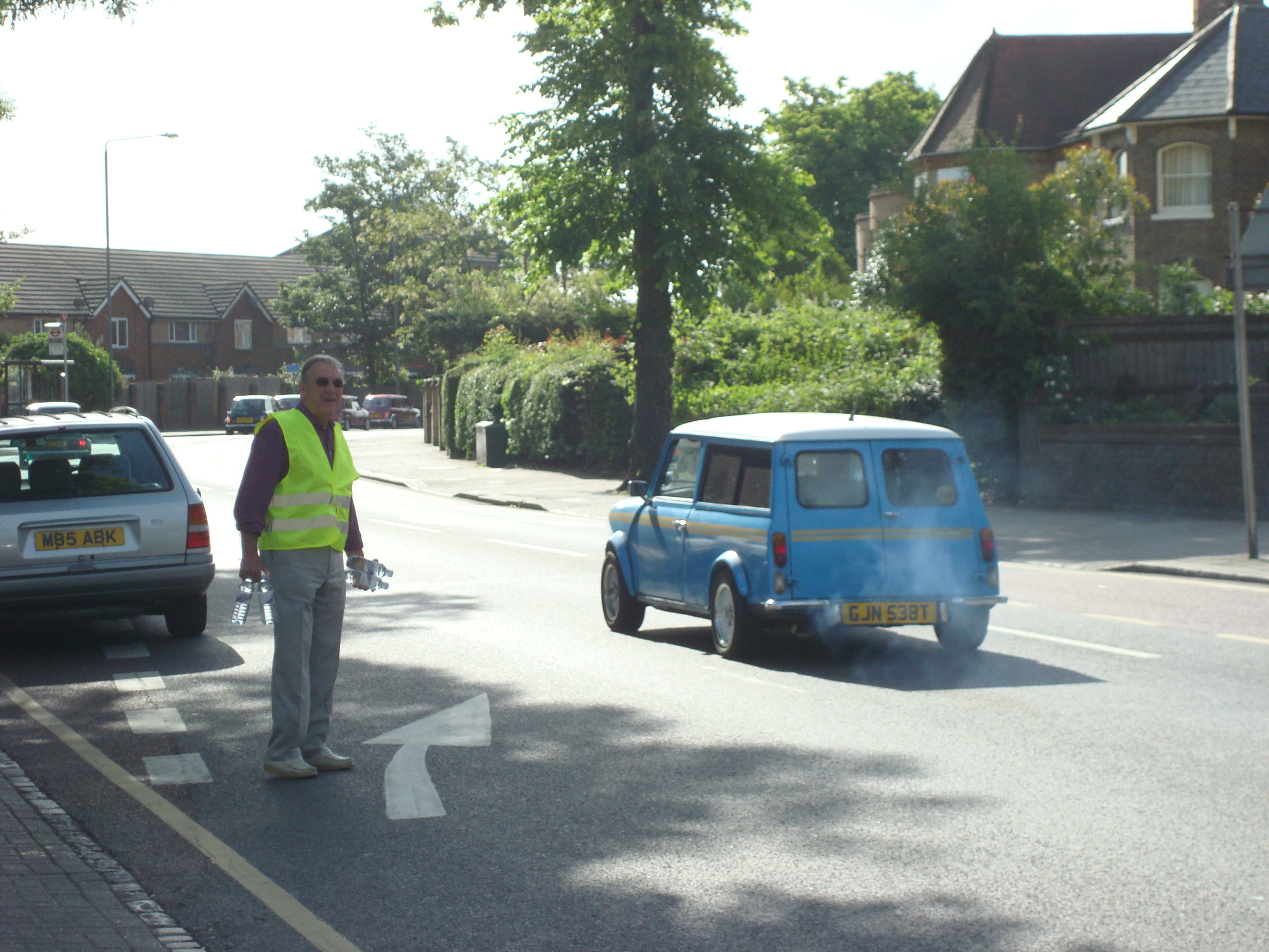 The London to Brighton Mini Rally